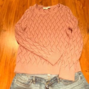 Purple LOFT sweater. Great condition